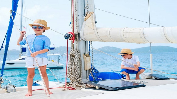 Catamaran Sailing Croatia With Kids
